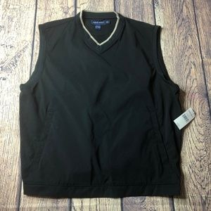 Polo Ralph Lauren Golf Mens Black Windbreaker Vest